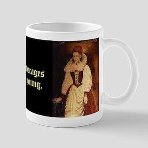 Elizabeth Bathory 11 Oz Ceramic Mug Mugs