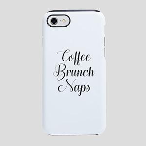 Coffee Brunch Naps iPhone 7 Tough Case