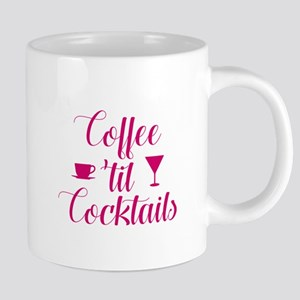 Coffee Til Cocktails 20 oz Ceramic Mega Mug