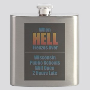 Hell Freezes - Wisconsin Flask