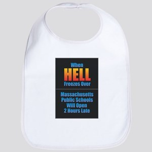 Hell Freezes - Massachusetts Baby Bib