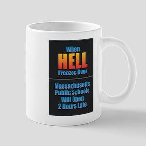 Hell Freezes - Massachusetts Mugs