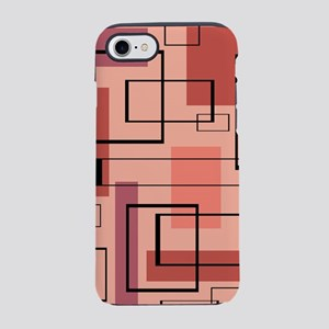 Retro Mid-Century Modern Art iPhone 8/7 Tough Case
