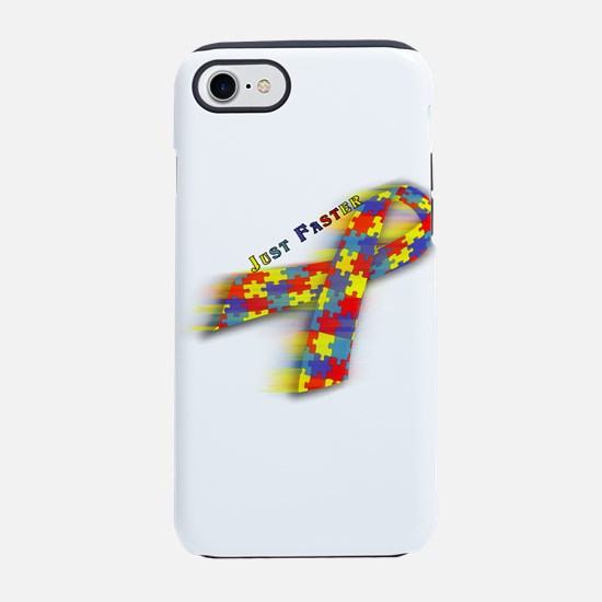 Autism: Just Faster iPhone 8/7 Tough Case
