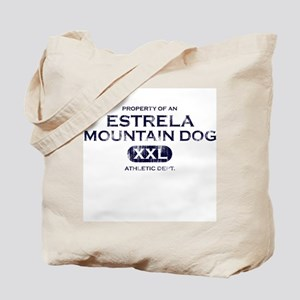 Property of Estrela Mtn Dog Tote Bag
