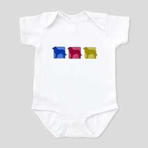 Color Row Estrela Mountain Dog Baby Bodysuit