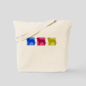 Color Row Estrela Mountain Dog Tote Bag