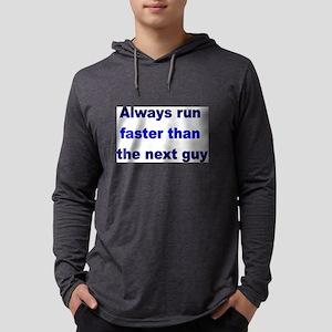 Run Faster Long Sleeve T-Shirt