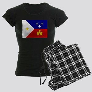 Flag of Acadiana Louisiana Pajamas