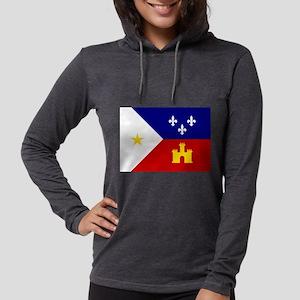 Flag of Acadiana Louisiana Long Sleeve T-Shirt