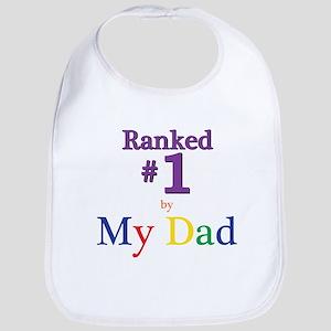 Ranked #1 By My Dad (SEO) Baby Bib