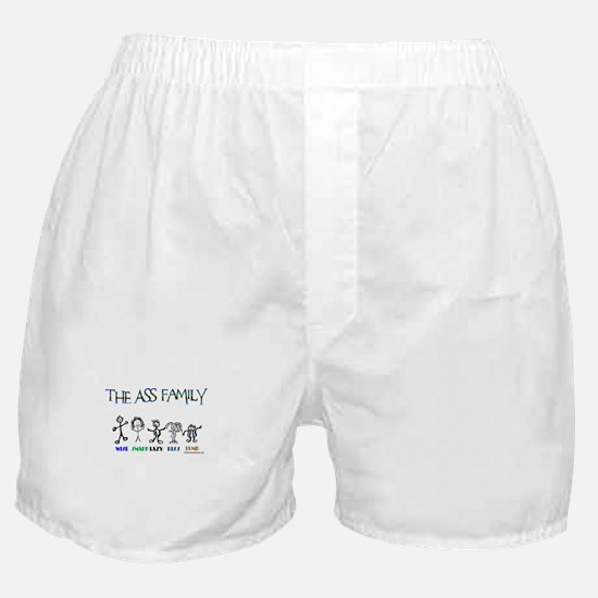 THE ASS FAMILY Boxer Shorts