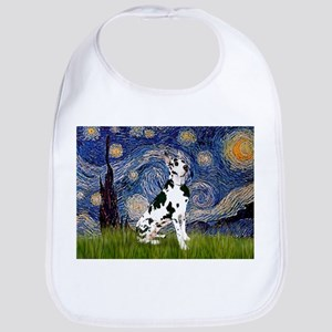 Starry Night & Great Dane (Harl.) Bib