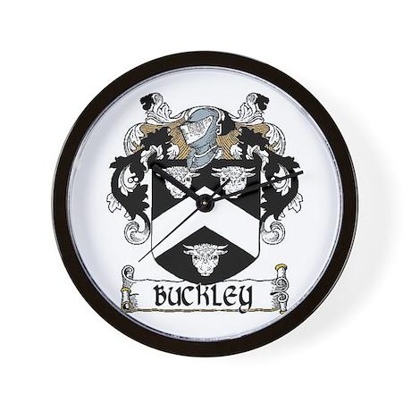 Buckley Coat of Arms Wall Clock