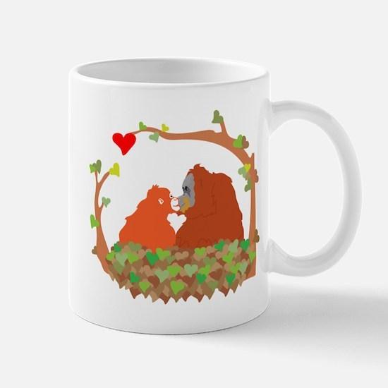Cute Orangutan Mug