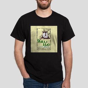 Bali Hai at the Beach Dark T-Shirt