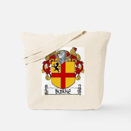 Burke Coat of Arms Tote Bag