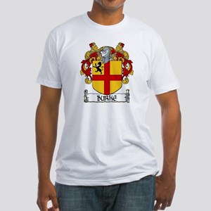 Burke Coat of Arms Fitted T-Shirt