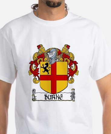 Burke Coat of Arms White T-Shirt