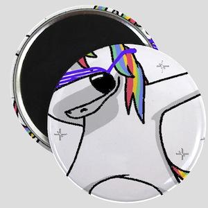 unicorn dabbing Magnets
