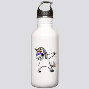 unicorn dabbing Water Bottle