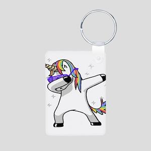 unicorn dabbing Keychains