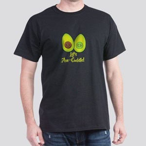 Let's Avo-cuddle - cute food pun T-Shirt