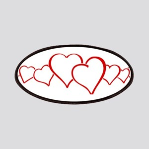Red Heart Chain Patch