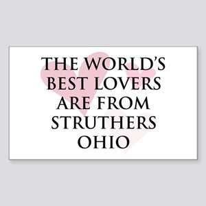 Struthers Lovers Rectangle Sticker