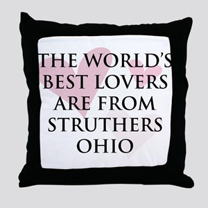 Struthers Lovers Throw Pillow