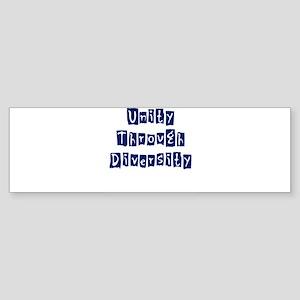 Unity Merchandise Bumper Sticker