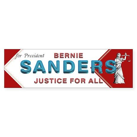 Bernie Sanders Sticker (Bumper)