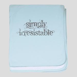 Simply Irresistable baby blanket