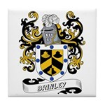 Brinley Coat of Arms Tile Coaster