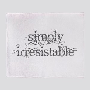 Simply Irresistable Throw Blanket