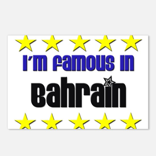 I'm Famous in Bahrain Postcards (Package of 8)
