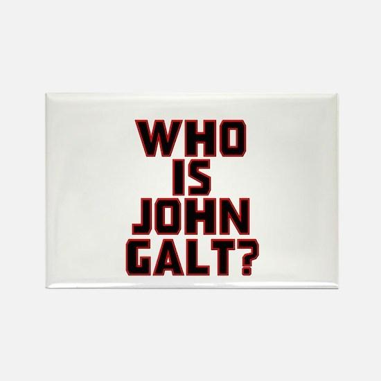 Who Is John Galt Rectangle Magnet