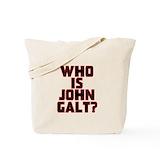 Atlas shrugged Canvas Tote Bag