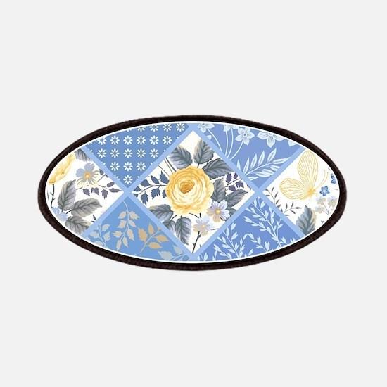 Patchwork Floral Patch