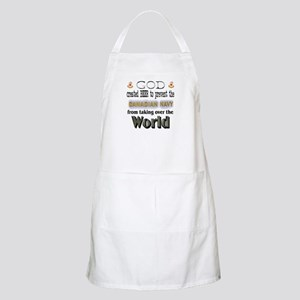 God Beer & the Navy BBQ Apron