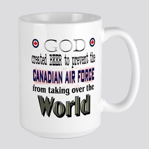 God Beer & the RCAF Large Mug