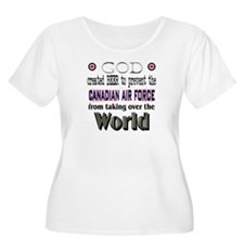 God Beer & the RCAF Women's Plus Size Scoop Neck T