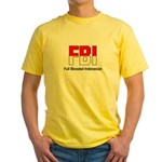 FBI Yellow T-Shirt