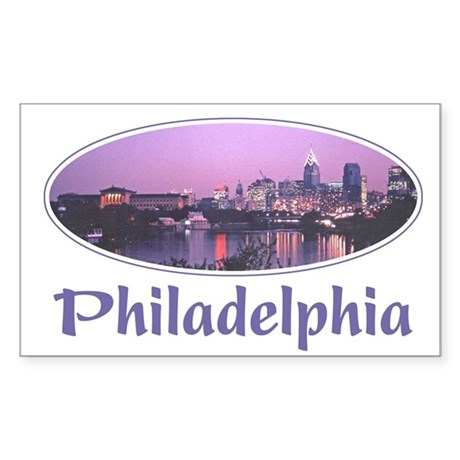 Philadelphia - 1986 Rectangle Sticker