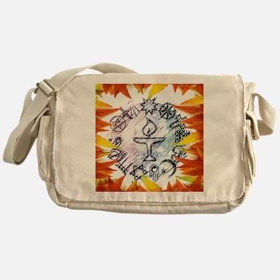 Cool Unitarian universalism Messenger Bag