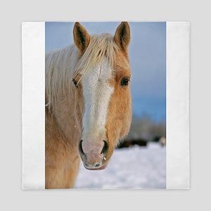 Palomino Horse Head Queen Duvet