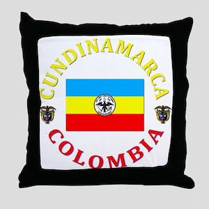 Cundinamarca Throw Pillow