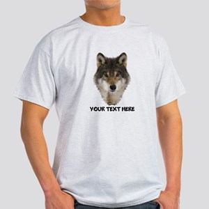 Wolf Personalized Light T-Shirt