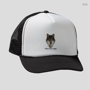 Wolf Personalized Kids Trucker hat