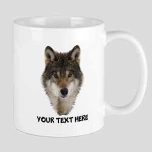 Wolf Personalized 11 oz Ceramic Mug